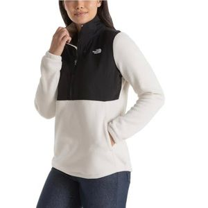 The North Face 1/4 zip fleece pullover Medium
